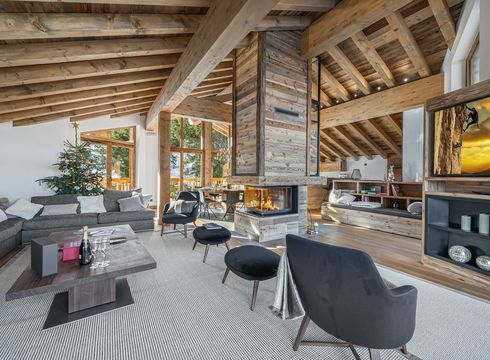 Chalet Coston ski chalet in Courchevel Village