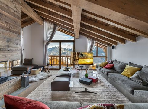 Chalet Carcentina ski chalet in Courchevel Village