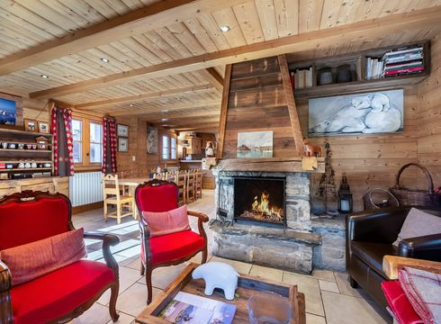 Chalet Passe Montagne ski chalet in Courchevel Moriond