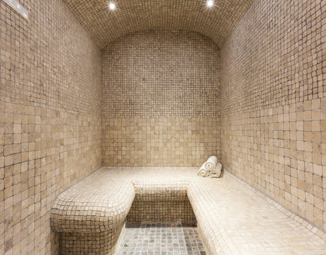 Ski chalets with steam room or hammam