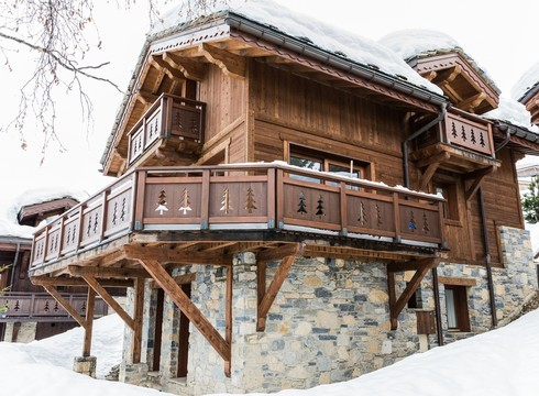 Chalet Notus ski chalet in Courchevel Moriond