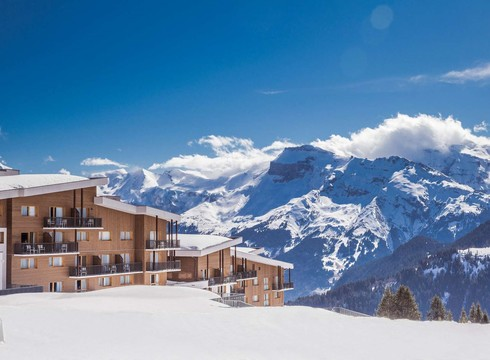 Club med grand massif samoens morillon exterior