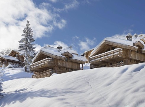 Chalet L'Or Blanc ski chalet in Courchevel Village